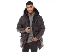 Mens Campbell Parka Black