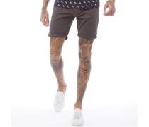 Hanson B Chino Shorts Anthrazit