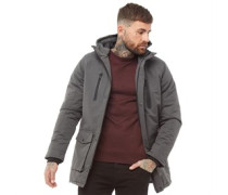 Garth Parka Jacke Anthrazit