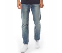 513 Fit Jeans mit geradem Bein Verblasstes Hell