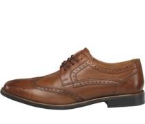 Rool Brogue Schuhe Waxy Tan