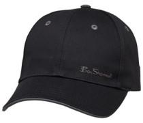 Ash 6 Panel Mütze Schwarz