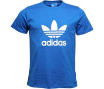 Trefoil T-Shirt Blau