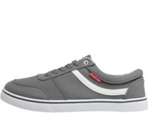 Mens Mohawk Canvas Shoes Dark Grey