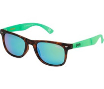 Supergami Folding Sunglasses Brown/Green