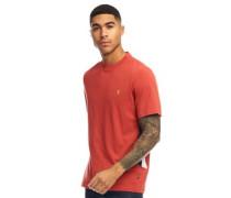Kemp T-Shirt Rostrot