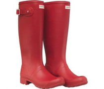 Original Womens Tour Packable Wellington Boots Military Red