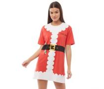 Santa Nigh Nachthemd Rot