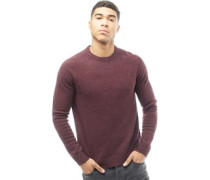 Mens Hayes Crew Sweater 2Multi-Nep Puce