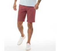 Chino Shorts Burgunder