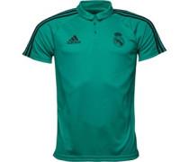 RMCF Real Madrid Polohemd Blaugrün