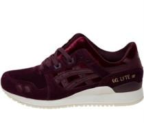 Gel Lyte III Sneakers Burgunder