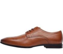 Leder Schuhe Hellbraun