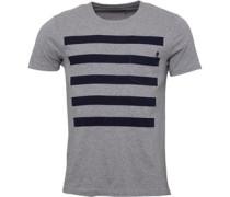 5 T-Shirt Graumeliert