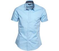 Mombass B Hemd mit kurzem Arm Hell
