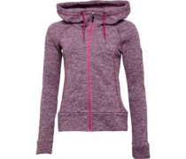 Easton Fleece Dunkelrosa