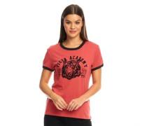 Atla T-Shirt Verwaschenes Rot