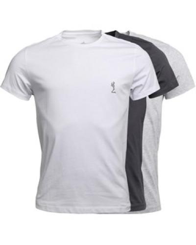Drei Pack T-Shirt Mehrfarbig