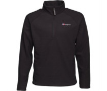 Arnside 1/2 Zip Fleece Schwarz