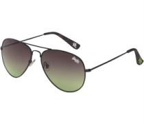 Huntsman Aviator Sonnenbrille Schwarz