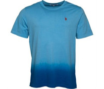 Kneece T-Shirt Mittelblau