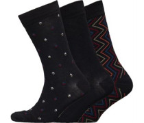 Alberoni Drei Pack Socken