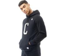 Mens Essentials Collegiate Star Hoody Black
