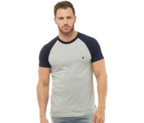 Raglan T-Shirt meliert
