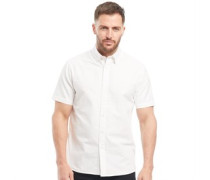 Church Hemd mit kurzem Arm Weiß