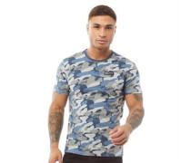 Blitz T-Shirt Blau Tarnfarbe