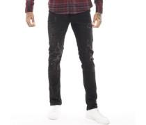 Cirrus Distressed Skinny Jeans er Denim