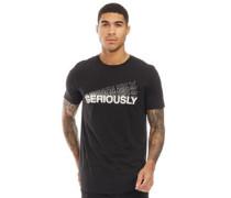 Vibe T-Shirt Schwarz