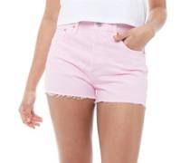 501® High Rise Denim Shorts Hellrosa