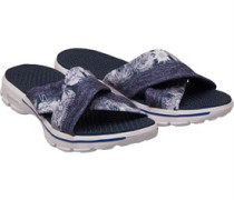 GOwalk Fiji Slide Sandalen Schiefer