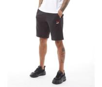Klassisches Jersey Shorts Schwarz