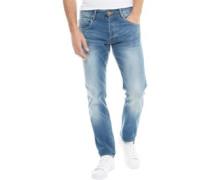 Cassady Laker 417 Jeans mit geradem Bein Verblasstes