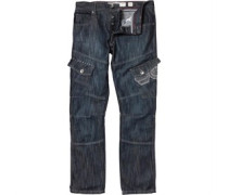 Cargo 16 Wash Jeans in regulär Passform