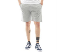 Mens Barker Shorts Light Grey Marl