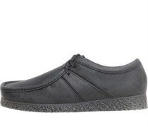 Mens Legacy Shoes Pull Up Black