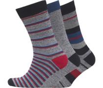 Juggler Drei Pack Socken Grau
