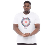 Übergröße Text Target T-Shirt