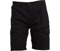Cusack Cargo Shorts Schwarz