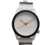 Paint Spray Armbanduhr Weiß