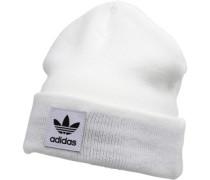 Logo Beanie Mütze Weiß