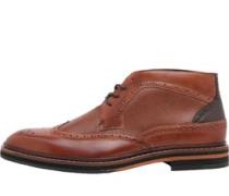 Cinika Stiefel Rot-Braun