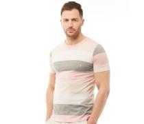 T-Shirt Rosameliert