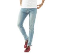 Skinny Jeans Verblasstes Hellblau