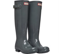 Original  Tall Gloss Gummistiefel Grau