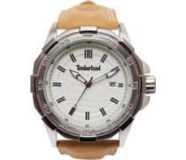 Armbanduhr Hellbeige