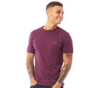 Vital T-Shirt Dunkelburgunderrot
